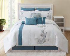 9 Piece King Forever Bliss Bedding Comforter Set KingLinen,http://www.amazon.com/dp/B00EL76XJU/ref=cm_sw_r_pi_dp_ttPetb1VECEKCWTR