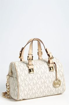 MICHAEL Michael Kors 'Grayson Logo - Chain' Satchel available at #Nordstrom