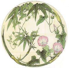 Japanese Drawings, Japanese Prints, Japanese Art, Fleurs Art Nouveau, Motifs Art Nouveau, Plant Painting, China Painting, Plant Illustration, Botanical Illustration