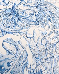 "crossconnectmag: "" The Art of James Jean James Jean born 1979, is a Taiwanese-American visual artist, known for both his commercial work and fine art gallery work. Enjoy his new work. Check out also his shop and for updates - his Twitter. Spice up..."