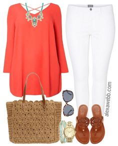 Plus Size Outfit Idea - Plus Size Fashion - alexawebb.com