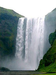 Seljalandsfoss Falls (200 feet, 60 miles)