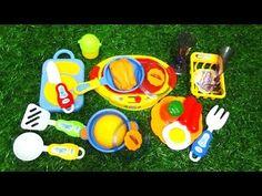 MINI KITCHEN TOY SET FOR KIDS - YouTube