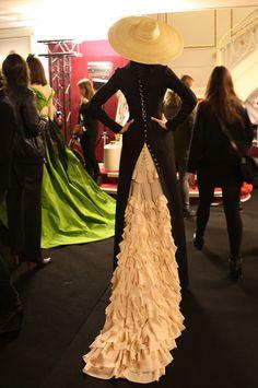 Backstage показа Ulyana Sergeenko в Париже, Buro 24/7