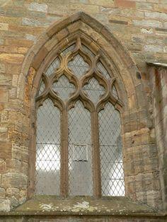 Image name: old church window. Photographer: Rosendahl.