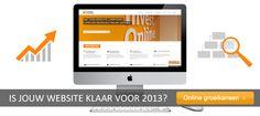 Is jouw website al klaar voor 2013?