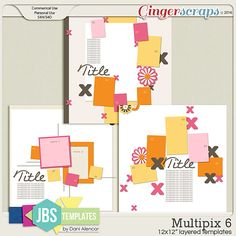 Multipix 6 Templates (Commercial Use)