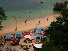 My trip in Padang Padang beach Bali, Indonesia I love this place