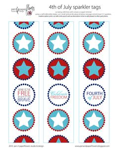 Free Printables some fun for the fourth...