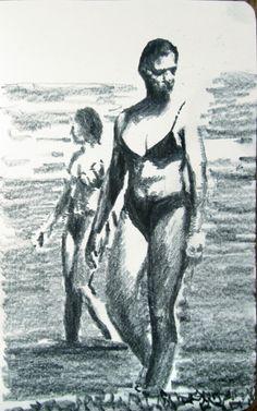 Moleskine #k06 graphite pencil drawing