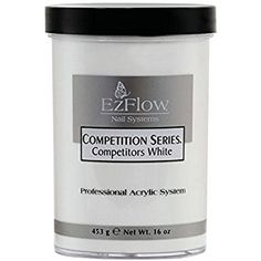 EZ FLOW Competition Series Powder Competitors False Nail, White 16 Ounce Review