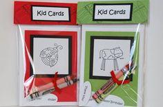 Color Me Kid Cards by rosekathleenr - Cards and Paper Crafts at Splitcoaststampers