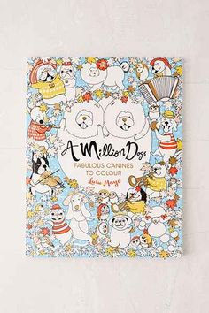 A Million Dogs Fabulous Canines To Color By Lulu Mayo Awesome StuffColoring BooksAdult ColoringColouringUrban OutfittersCatalogBedroom
