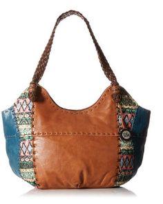 The Sak Teal Tribal Indio Tote Bag  #TheSak #Satchel