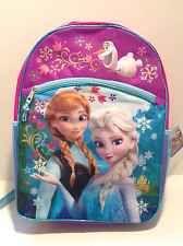 "Disney Frozen Backpack 16"" Elsa Princess Anna School Bag USA Seller SHIPS FAST"