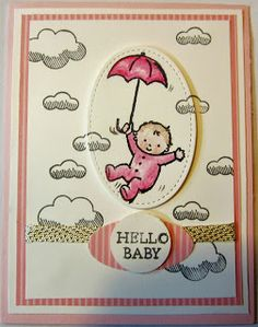 Crafty Maria's Stamping World: Hello Baby