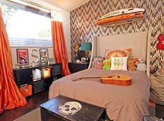 Decoração de quarto masculino , Blog Dactylo