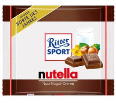Ritter SPORT - nutella where can I get this? Sweet Like Chocolate, Chocolate Dreams, Candy Recipes, Snack Recipes, Nutella, Trick R Treat, Chocolate Snacks, Chocolates, Hazelnut Spread