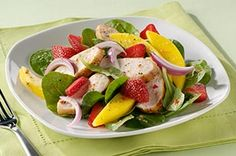 Grilled Chicken and Mango Salad recipe