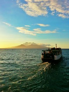 Our Departure To Camiguin Island Philippines Tourism, Beautiful Places, Knowledge, Island, Celestial, Sunset, Travel, Outdoor, Outdoors
