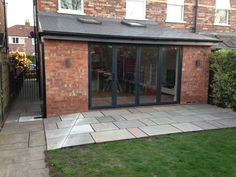 Single storey rear kitchen extension