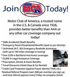 The tatted blogger discover the truth about motor club of america motor club of america mca is looking for sales people to market their 1995 sciox Images