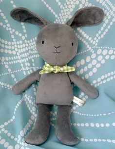 washable bunny. $37 from dearsweetdarlings.