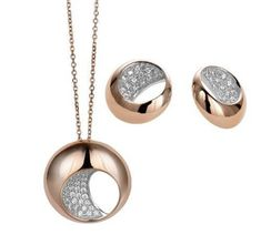Jewelry Round Circle Style Party Chain Pendant Necklace 925 sterling silver Cz* #Niki #Pendant