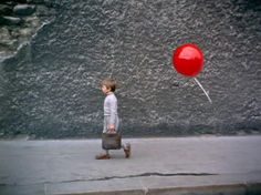 Le ballon rouge (The Red Balloon) is a French short-film directed by Albert Lamorisse in starring his son, Pascal Lamorisse. Red Balloon Movie, Color Photography, Amazing Photography, National Poetry Month, Poem A Day, Valentines Day Activities, Cinema Film, French Films, Pompeii