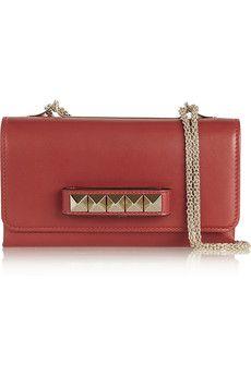 Valentino Va Va Voom leather shoulder bag | NET-A-PORTER