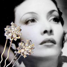 #Vintage #hair pins by #OhFaro