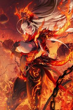 Dark Fantasy Art, Anime Art Fantasy, Fantasy Art Women, Fantasy Girl, Fantasy Artwork, Thicc Anime, Anime Sexy, Anime Demon, Cool Anime Girl
