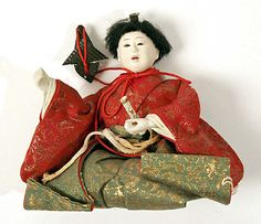 Doll  Date: 19th century Culture: Japanese Medium: silk Dimensions: Height: 6 in