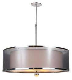 "Dining 30"" DRUM DUO MOUNT ADJUSTABLE :: LARGE PENDANTS :: Ceiling lights Toronto, Bath and vanity lighting, Chandelier lighting, Outdoor lighting and kitchen lights :: Union"