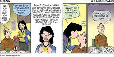 Strip Louann comic
