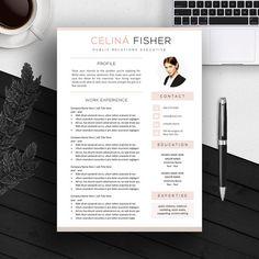 Modern resume coverletter template yelopaper Gallery