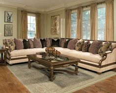Saveria 5-Piece Sectional | Benetti's Italia Furniture | Home Gallery Stores