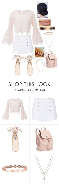 """""""Untitled #882"""" by originalmrsmalfoy1 ❤ liked on Polyvore featuring Pierre Balmain, Steve Madden, Tory Burch and Charlotte Russe"""