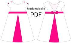 "Patron Robe ""Mademoiselle"" - PDF"