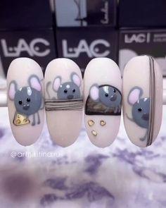 Manicure Nail Designs, Gel Nail Art Designs, Simple Nail Art Designs, Manicure E Pedicure, Cute Gel Nails, Cute Nail Art, Diy Nails, Swag Nails, Fruit Nail Art