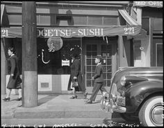 1942 Little Tokyo store for rent