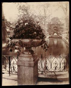Luxembourg Gardens; Eugène Atget (Paris, France; about 1906)