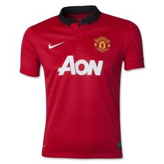 563f14470 Manchester United 13 14 Youth Home Soccer Jersey Manchester United