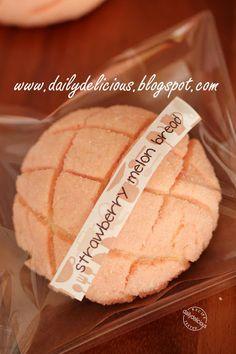 Strawberry Vanilla Melon Bread