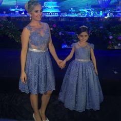 Lindas Eleonora e Lua vestem Cecília  Cavalcante !!!