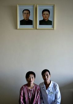 North Korea. The emptiness is full of sorrow. In the documentary I watched the house they were allowed to visit there were no family pictures only pictures of the dear leader and his father.