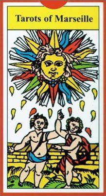 The family of Marseilles cards are the decks that first caught the attention of French occultists, thus beginning Tarot's use as a divination tool. The Tarots of Marseille, a detailed reproduction of