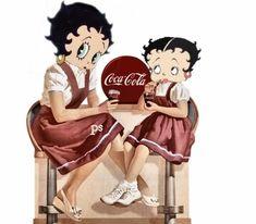 *COCA-COLA ~ Betty Boop Ad
