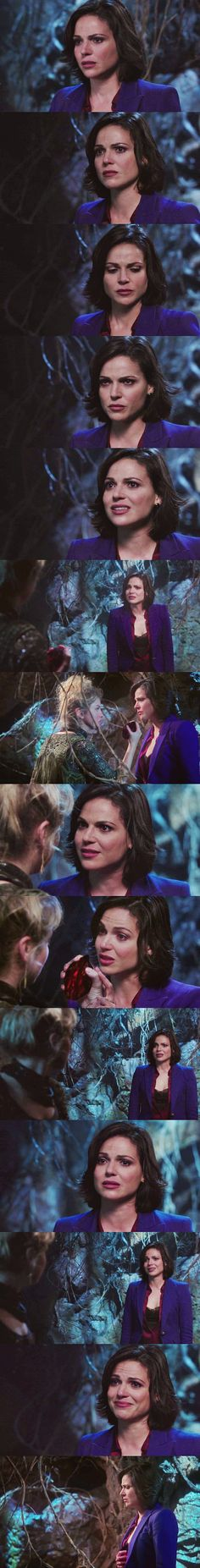 No subtitles needed.  All the awards to Lana.  Lana Parrilla; Once Upon A Time