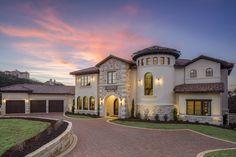 Clean European | Vanguard Studio | Architect Austin, Texas Casas Texas, Texas Mansions, Marble Falls, Dream House Exterior, Mediterranean Homes, Autumn Home, Austin Texas, My House, House Plans